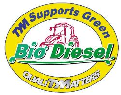 TYM Supports Green! Bio Diesel. QualiTYMatters!